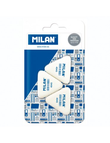 Blíster Milan 3 gomas forma...