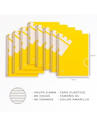 Casterli - Pack 8 libretas...