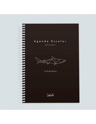 Casterli - Agenda Escolar 2020-2021 Stay Positive - A5 - Shark
